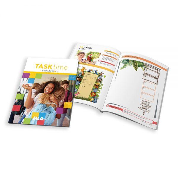 Libro di testo 'MLA Task Time' USA