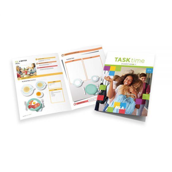 Libro di testo 'MLA Task Time' UK