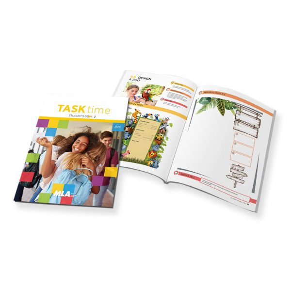 Set 5 Libri di testo 'MLA Task Time' USA