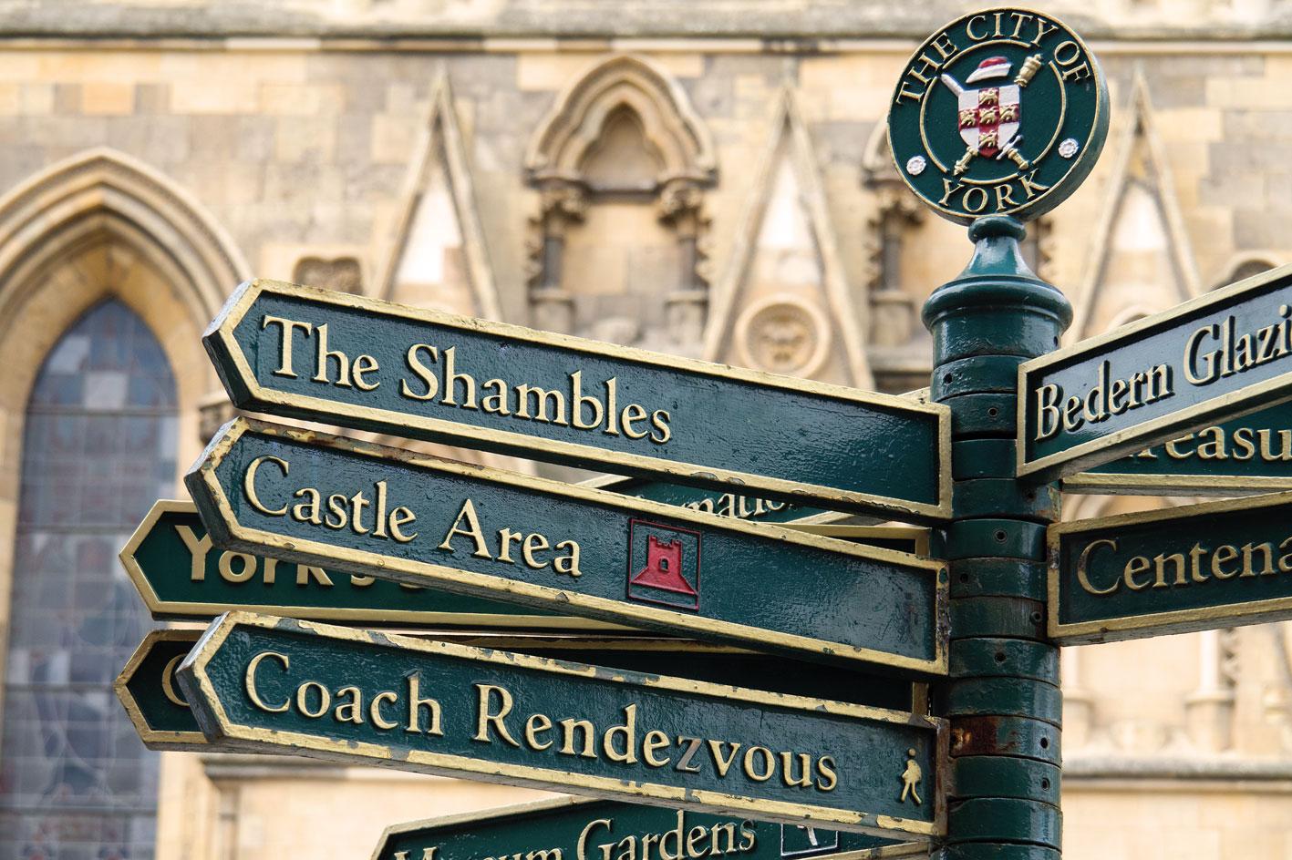 Corsi di inglese a York - Soggiorni linguistici York adulti