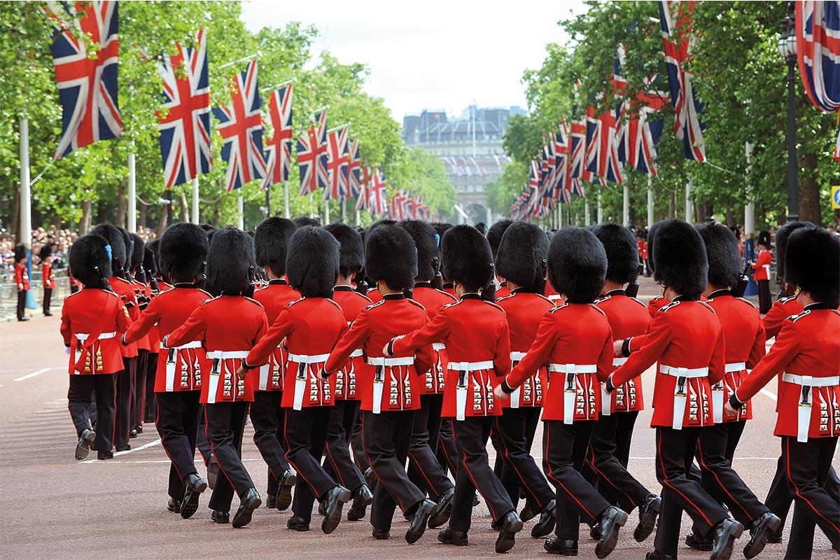 Cambio della guardia a Londra - Anno scolastico all'estero