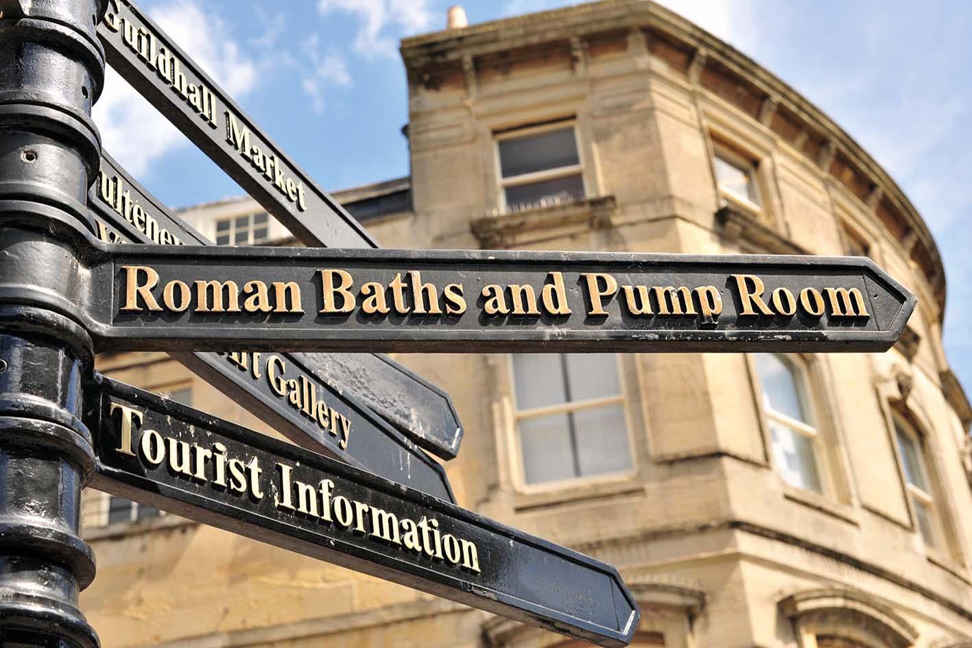 Bath - Roman Baths Experience<br>Bath Spa University
