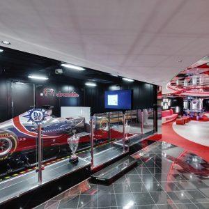 MSC Seaside, F1 Simulator