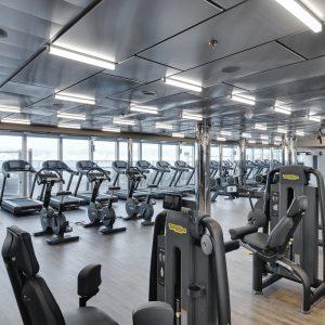 MSC Seaside, MSC Gym by Technogym
