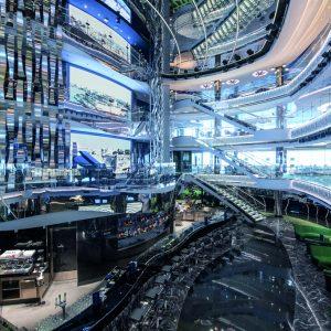 MSC Seaview, atrium
