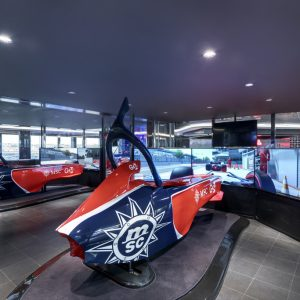 MSC Grandiosa, F1 simulator