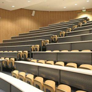 Aula dell'università di Dublino