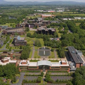University of Limerick dall'alto