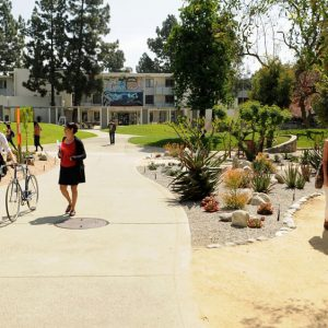 Campus del Pitzer college
