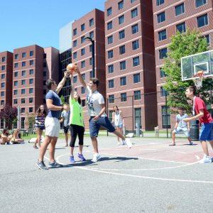Campo da Basket Ramapo college